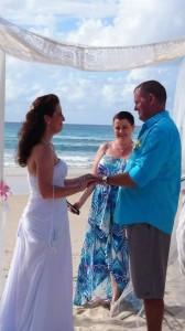 Jody and Nick's Stradbroke Island Beach Wedding by Tamzin