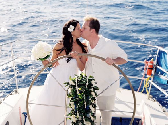 Unusual Sites For A Wedding  Wedding On A Boat Or Ship