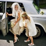Kate Moss Wedding Arrival