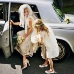 Kate Moss Wedding Arrival